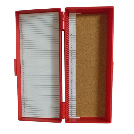 Microscope Slide Storage Box 50
